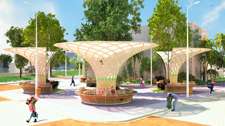 Mobiliarios Urbano Edificio Ferrans A.BORNACELLI
