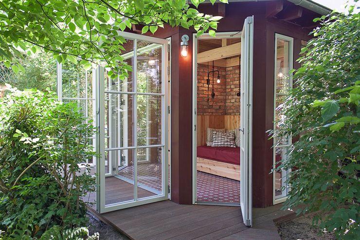 Gartenpavillon – Außenansicht Lena Klanten Architektin Gartenhaus Holz
