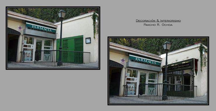 Pancho R. Ochoa Interiorismo Espaces commerciaux classiques Fer / Acier Vert