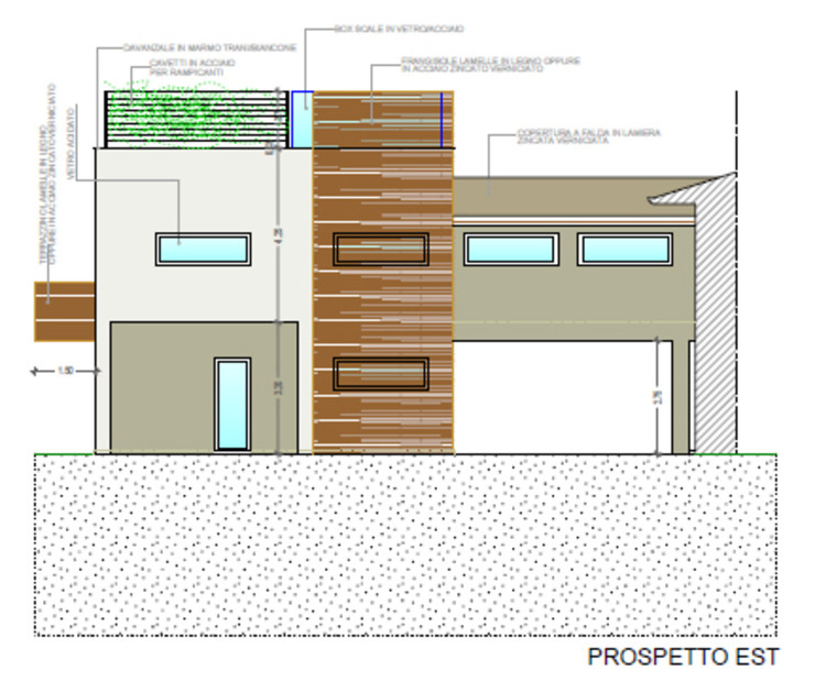 Architetti Baggio Терасовий будинок Дерево Білий