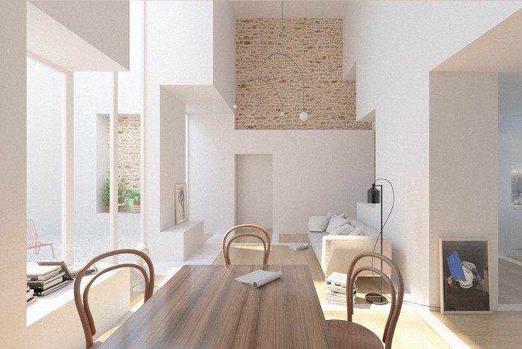 Corpo Atelier Living room White