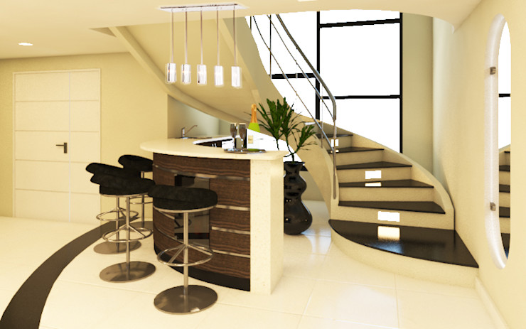 Arquitecto Javier Escobar Stairs Granite Beige