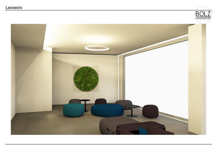 Loungebereich Bolz Licht und Wohnen · 1946 Moderne Bürogebäude
