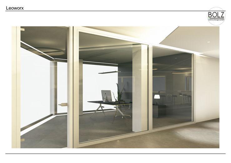Eckbüro Bolz Licht und Wohnen · 1946 Moderne Bürogebäude