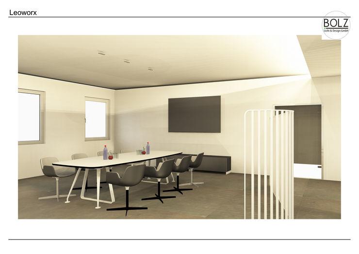 Besprechungsbereich Bolz Licht und Wohnen · 1946 Moderne Bürogebäude