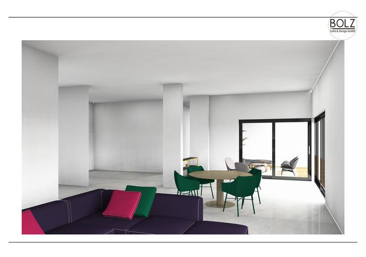 Offener Wohn- und Essbereich Bolz Licht und Wohnen · 1946 Moderne Wohnzimmer
