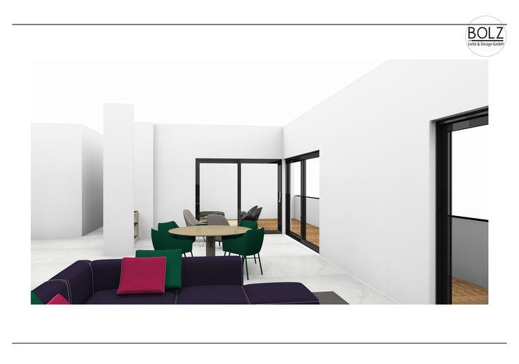 Offener Essbereich Bolz Licht und Wohnen · 1946 Moderne Wohnzimmer