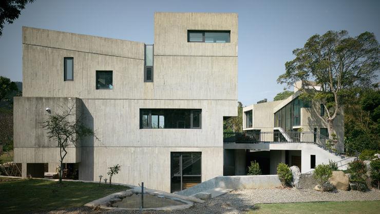 關西杜宅 形構設計 Morpho-Design 現代房屋設計點子、靈感 & 圖片