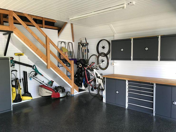 Garageflex Case Study of a Fantastic Garage Makeover in Hertfordshire Garageflex Modern garage/shed