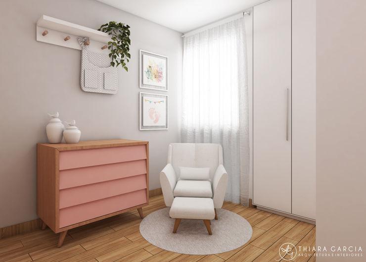 Thiara Garcia Arquitetura e Interiores Baby room White