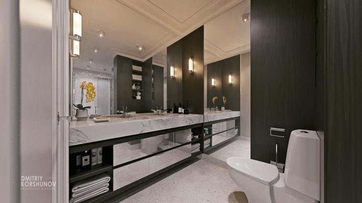 ЖК «Шуваловский» | Residential complex «Shuvalovskii» Дмитрий Коршунов Ванная в классическом стиле