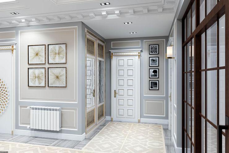Elegant and modern entrance hall DMR DESIGN AND BUILD SDN. BHD.