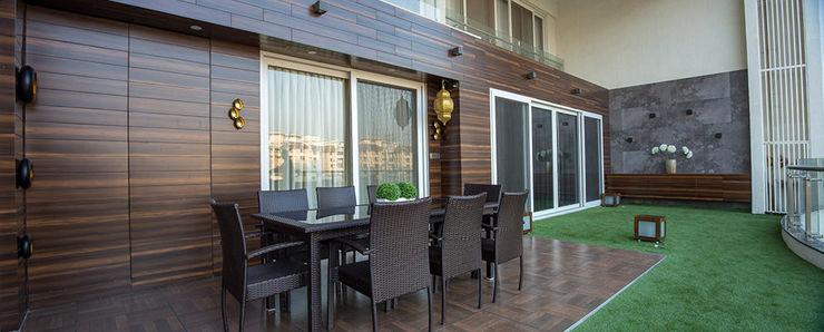 AreaPlanz Design Moderner Balkon, Veranda & Terrasse