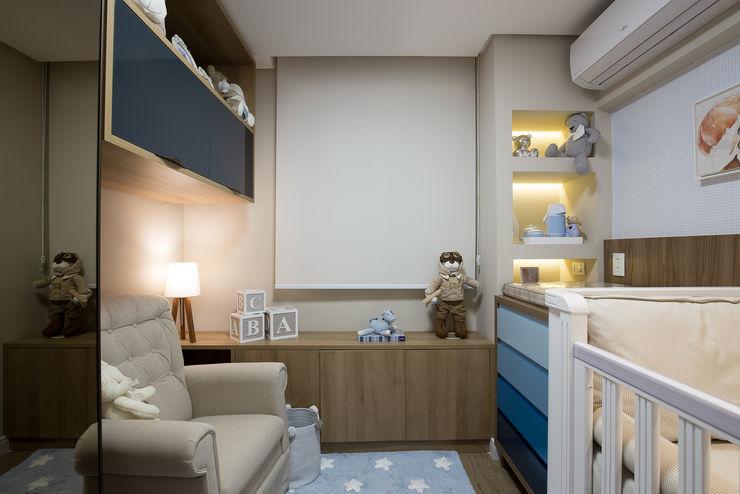 Dormitório bebê - Apartamento Way INOVA Arquitetura Quarto infantil moderno