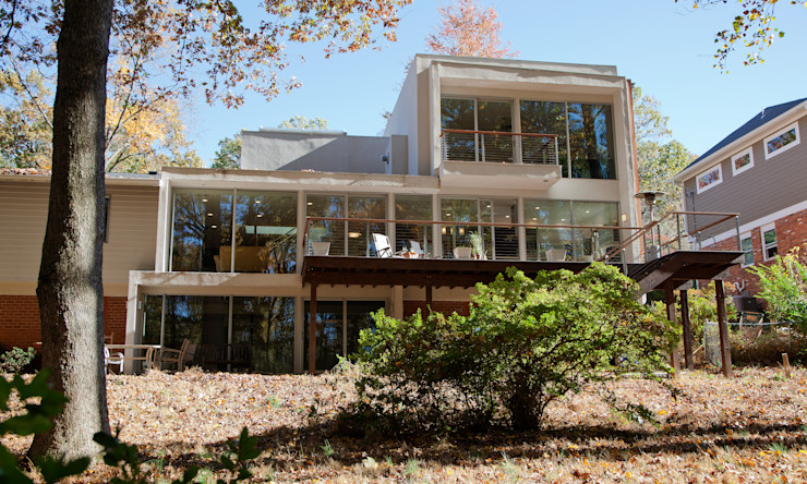 RT Studio, LLC Modern houses Glass