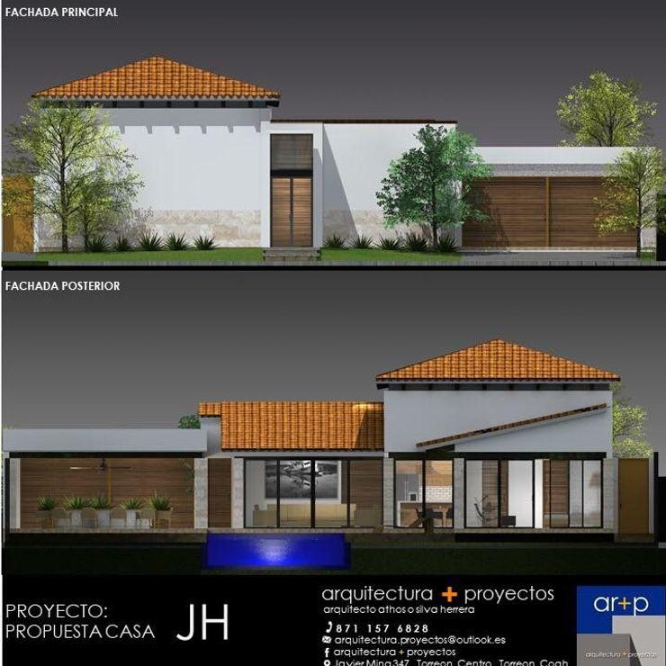 arquitectura+proyectos Villas Reinforced concrete White