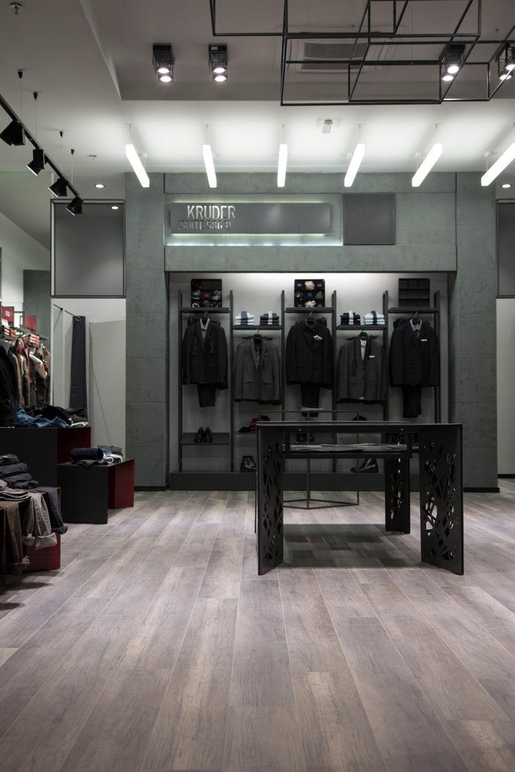 DUOLAB Progettazione e sviluppo Office spaces & stores Concrete Grey