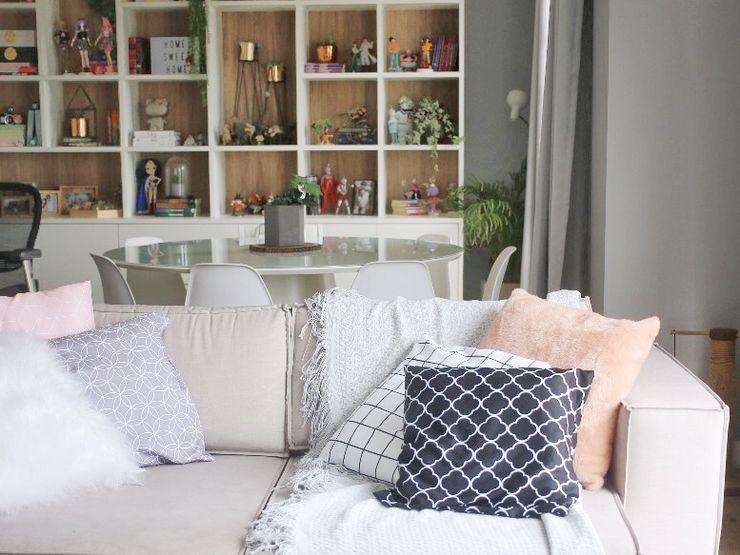 Studio M Arquitetura Modern Living Room