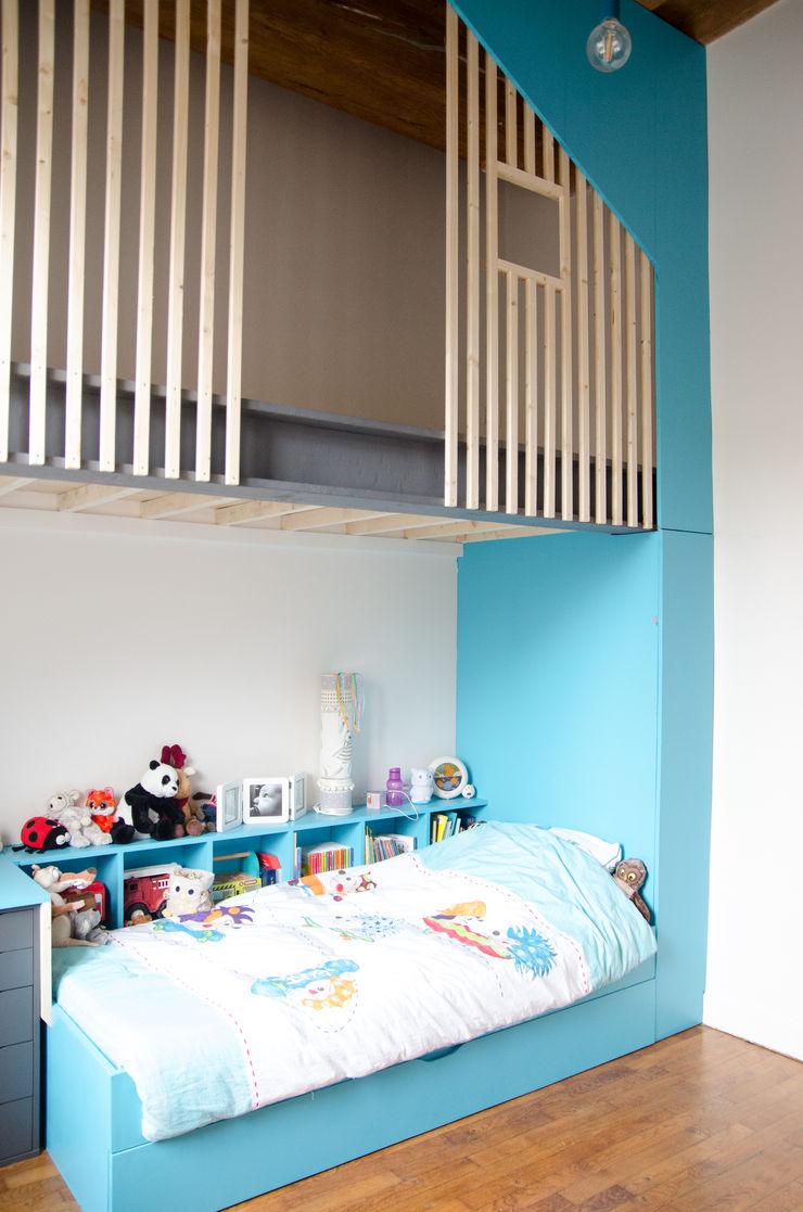 Kauri Architecture Stanza dei bambini moderna Legno Blu