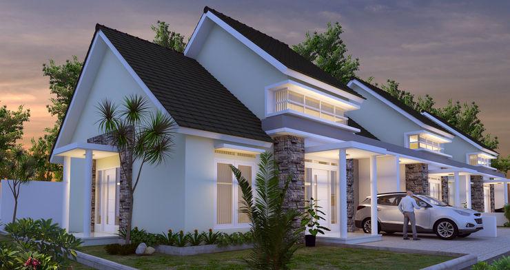 BALCON ARCHITECTS Casas de estilo moderno
