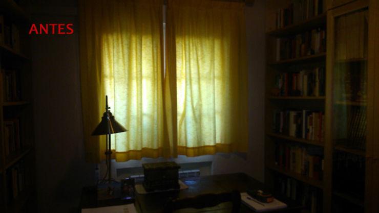 salita antes Almudena Madrid Interiorismo, diseño y decoración de interiores Salones de estilo clásico