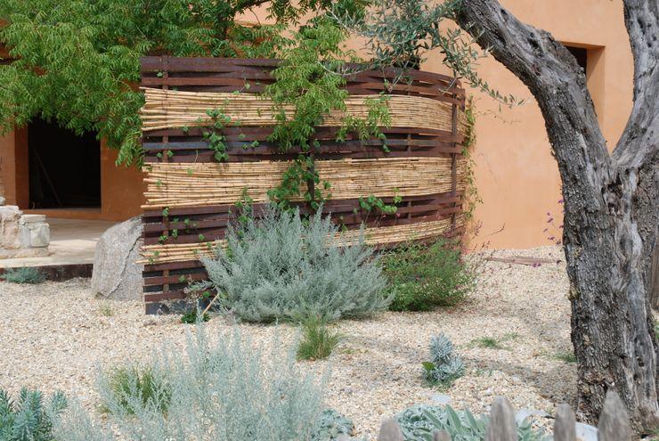Un brise vue Jean-Jacques Derboux Jardin méditerranéen