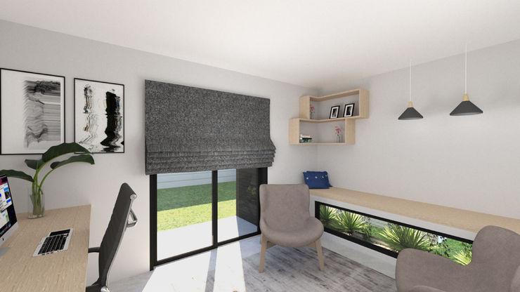 A4AC Architects Estudios y despachos de estilo moderno Ladrillos Blanco