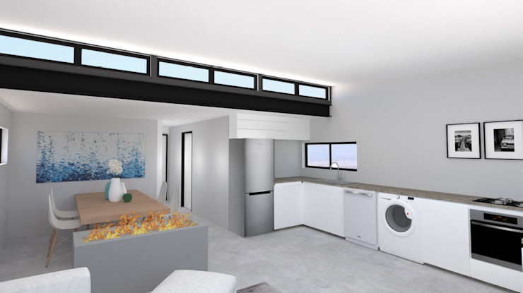 A4AC Architects Comedores de estilo moderno