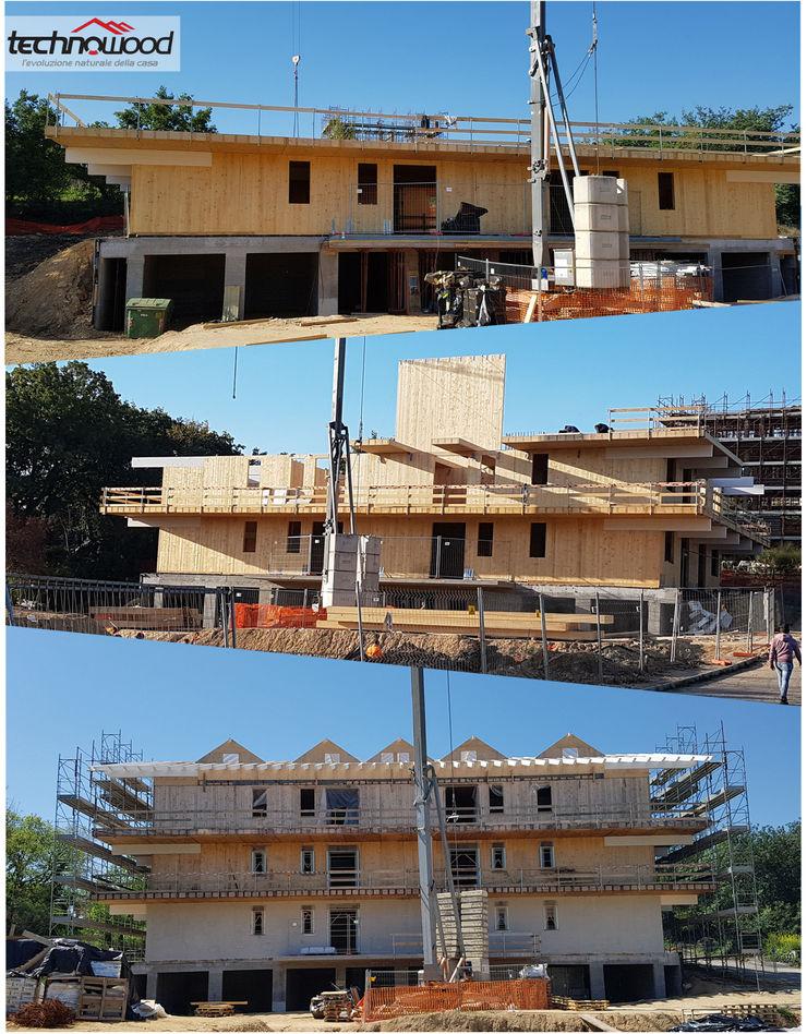Technowood srl Multi-Family house Wood