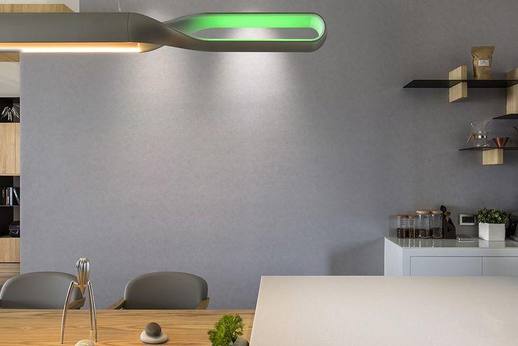 詩賦室內設計 Ruang Makan Gaya Skandinavia
