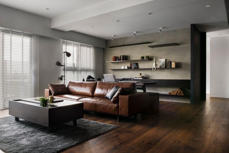 客廳 邑田空間設計 Modern living room