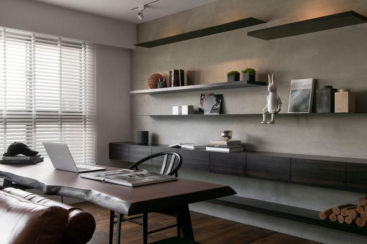 書房 邑田空間設計 Modern study/office