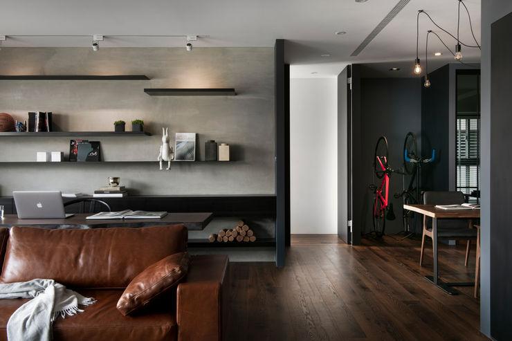 牆面搭配 邑田空間設計 Modern walls & floors