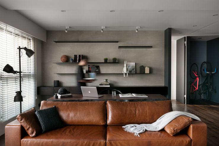 邑田空間設計 Modern living room