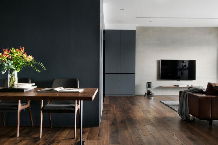 餐廳視角 邑田空間設計 Modern walls & floors