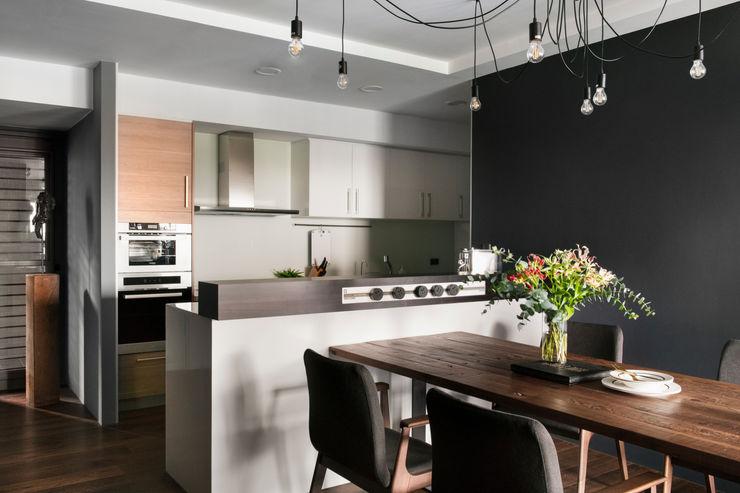 廚房與餐廳 邑田空間設計 Modern dining room