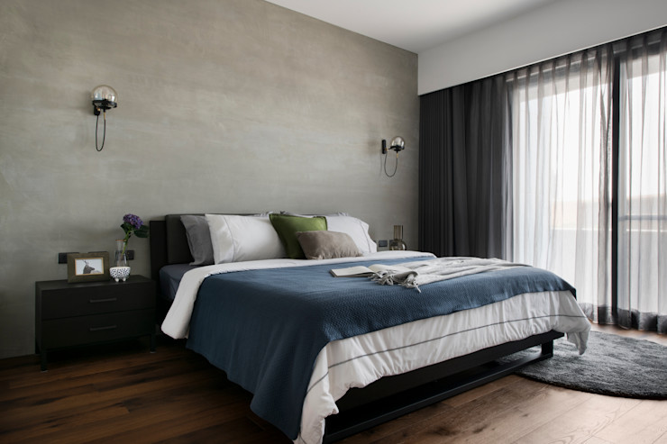 主臥 邑田空間設計 Modern style bedroom