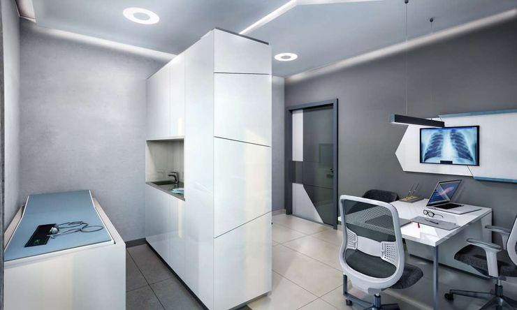 Tınaztepe Galen Hastanesi - Muayene Odası VERO CONCEPT MİMARLIK Modern Hastaneler