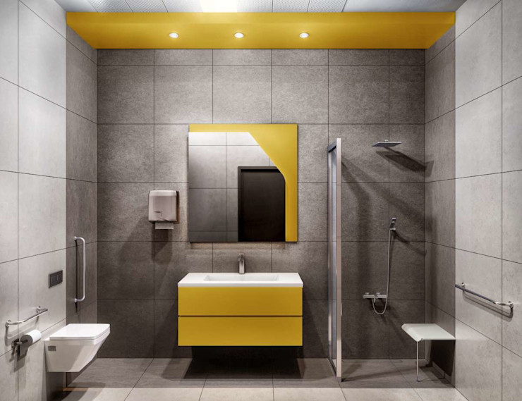 Tınaztepe Galen Hastanesi - Tuvalet/Banyo VERO CONCEPT MİMARLIK Modern Hastaneler