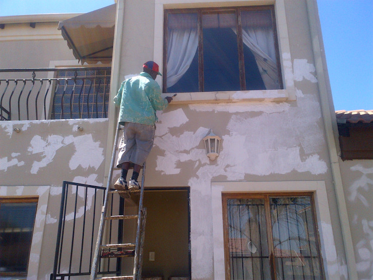 Exterior Renovation Kgodisho Solutions and Projects Classic style houses