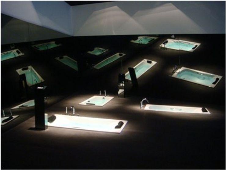 ROCA, Showroom pavilion for the presentation of the new collection. Studioapart Interior & Product design Barcelona Espacios comerciales de estilo minimalista