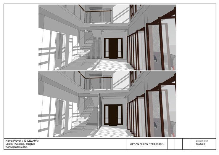 jaas.design Salas modernas Compuestos de madera y plástico Blanco