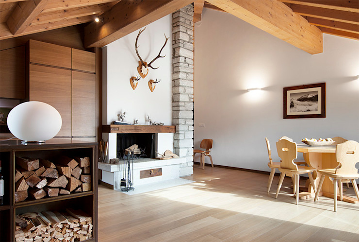 Studio Architettura Macchi Scandinavian style living room