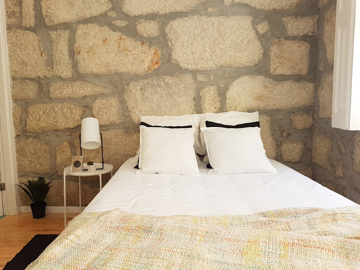 IAM Interiores Kamar Tidur Gaya Skandinavia