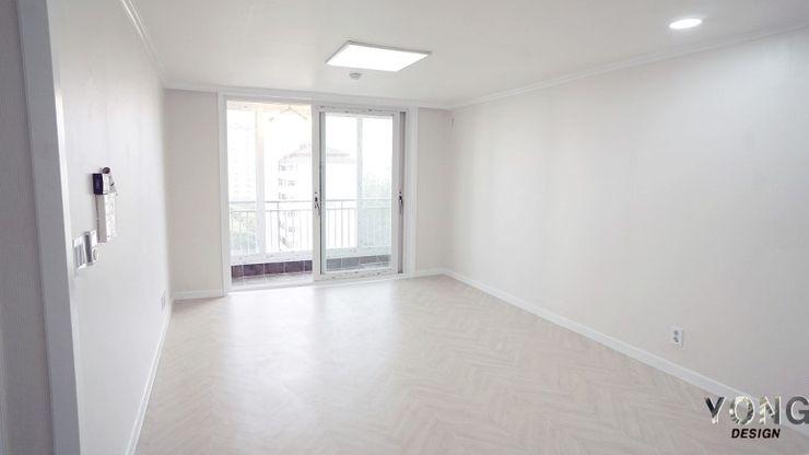 YONG DESIGN Modern Living Room White