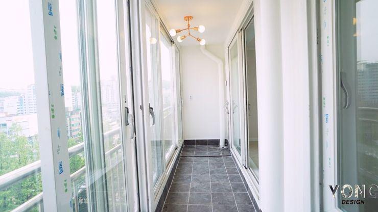 YONG DESIGN Modern Terrace Tiles Black