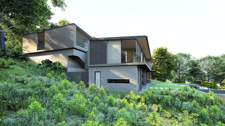 CA Architects Rumah tinggal