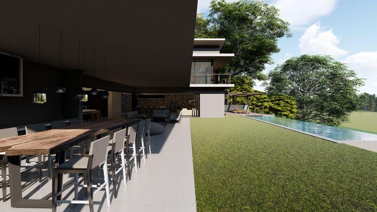 CA Architects Тераса