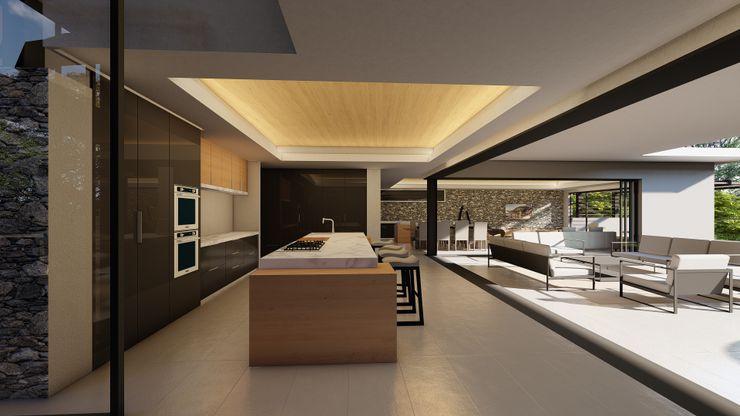 CA Architects Вбудовані кухні