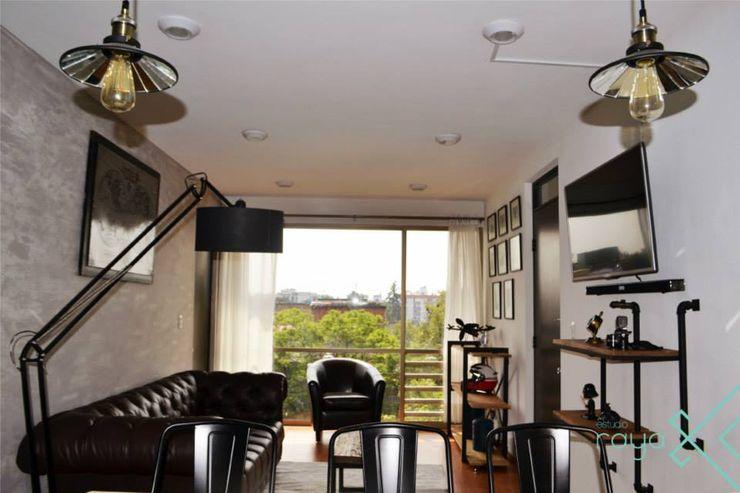 Estudio Raya Modern living room